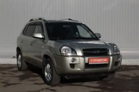 Hyundai Tucson 2008 г. (бежевый)