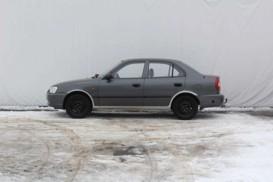 Hyundai Accent 2003 г. (серый)