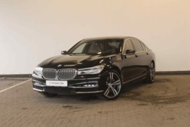 BMW 7er 2015 г. (черный)