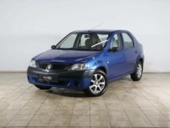 Renault Logan 2008 г. (синий)