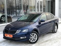Škoda Octavia 2017 г. (синий)