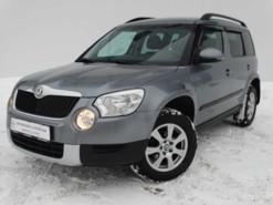Škoda Yeti 2013 г. (серый)