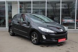 Peugeot 308 2011 г. (черный)