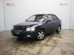 Hyundai Accent 2008 г. (синий)