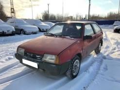 LADA 2108 1993 г. (красный)
