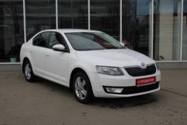 Škoda Octavia 2013 г. (белый)