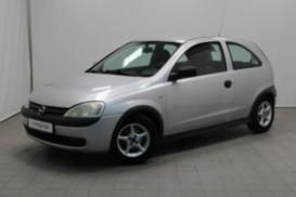 Opel Corsa 2002 г. (серебряный)
