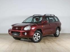 Hyundai Santa FE 2008 г. (красный)