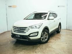 Hyundai Santa FE 2013 г. (бежевый)