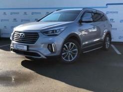 Hyundai Santa FE 2016 г. (серый)