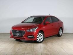 Hyundai Solaris 2017 г. (красный)