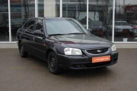 Hyundai Accent 2011 г. (черный)