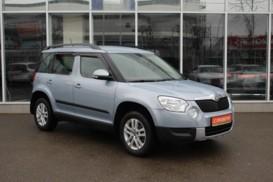 Škoda Yeti 2012 г. (голубой)