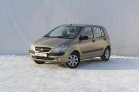 Hyundai Getz 2010 г. (бежевый)
