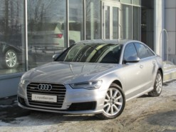 Audi A6 2015 г. (серый)
