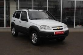 Chevrolet Niva 2013 г. (белый)