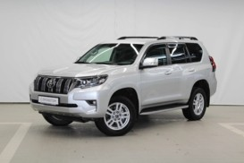 Toyota Land Cruiser Prado 2018 г. (серебряный)