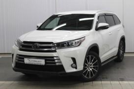 Toyota Highlander 2017 г. (белый)