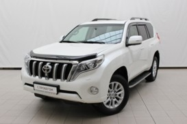 Toyota Land Cruiser Prado 2015 г. (белый)