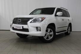 Lexus LX 2012 г. (белый)