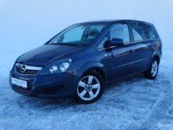 Opel Zafira 2011 г. (синий)