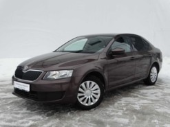 Škoda Octavia 2013 г. (коричневый)