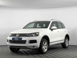 Volkswagen Touareg 2013 г. (белый)