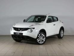 Nissan Juke 2014 г. (белый)