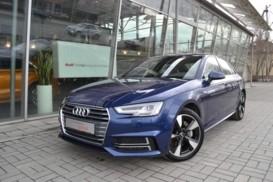 Audi A4 2017 г. (синий)