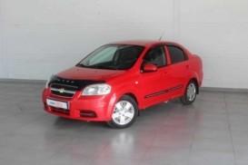 Chevrolet Aveo 2007 г. (красный)