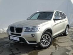 BMW X3 2014 г. (бежевый)