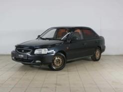 Hyundai Accent 2008 г. (черный)