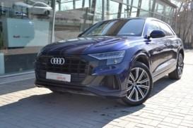 Audi Q8 2018 г. (синий)