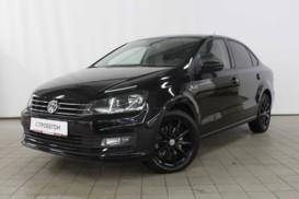 Volkswagen Polo 2018 г. (черный)