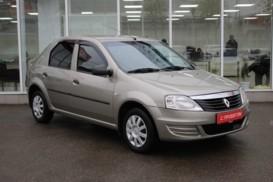 Renault Logan 2012 г. (бежевый)