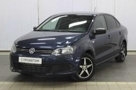 Volkswagen Polo 2014 г. (синий)