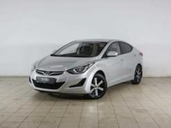 Hyundai Elantra 2014 г. (серебряный)