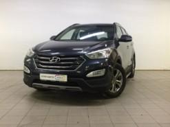 Hyundai Santa FE 2015 г. (синий)