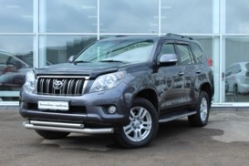 Toyota Land Cruiser Prado 2011 г. (серый)