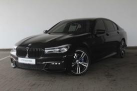 BMW 7er 2016 г. (черный)