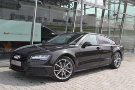 Audi A7 Sportback 2015 г. (черный)