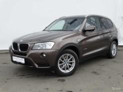 BMW X3 2012 г. (коричневый)
