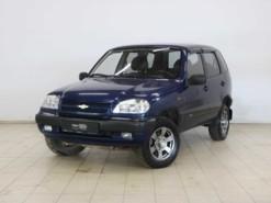 Chevrolet Niva 2007 г. (синий)