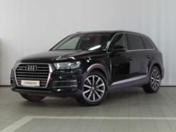 Audi Q7 2015 г. (черный)