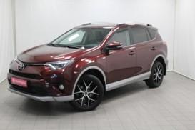 Toyota RAV4 2017 г. (красный)
