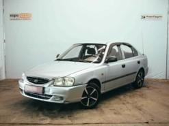 Hyundai Accent 2008 г. (серебряный)