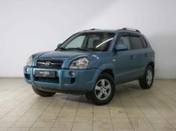 Hyundai Tucson 2006 г. (синий)