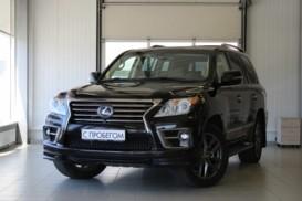 Lexus LX 2014 г. (черный)