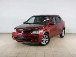 Renault Logan 2009 г. (красный)