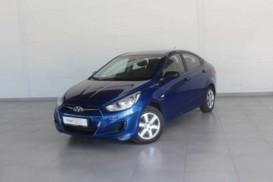 Hyundai Solaris 2012 г. (синий)